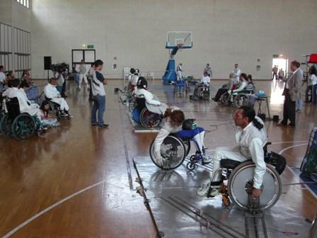 Manifestazione disabili